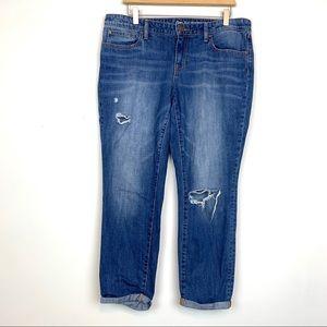 Gap Sexy Boyfriend Fit Womens Skinny Jeans Size 12